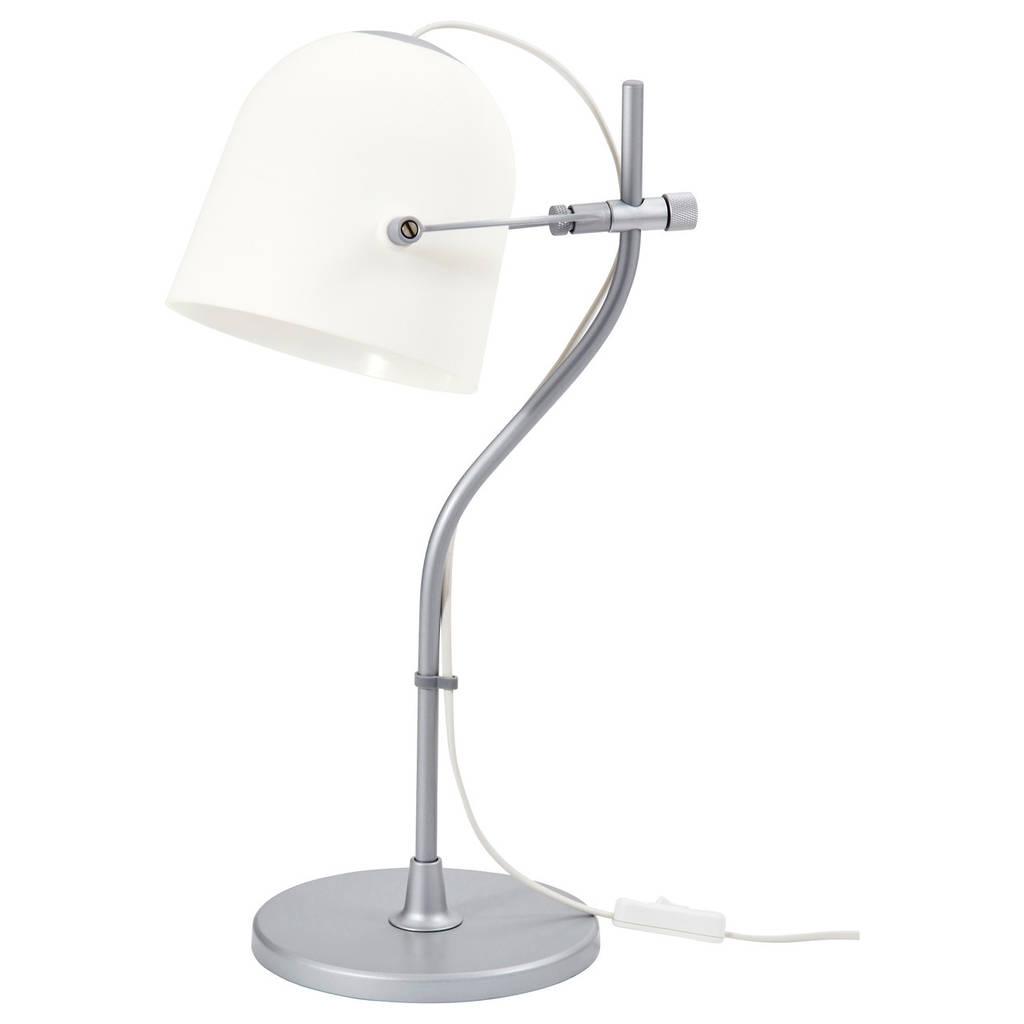 SVIRVEL Лампа настольная, белый