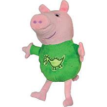 М'яка іграшка «Peppa Pig» (25090) Джордж з вишитим драконом, 25 см