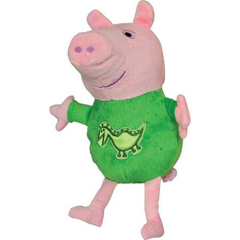 Мягкая игрушка «Peppa Pig» (25090) Джордж с вышитым драконом, 25 см, фото 2