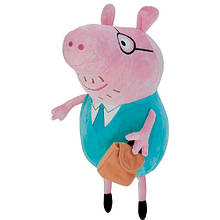 М'яка іграшка «Peppa Pig» (25100) Папа Свин, 30 см