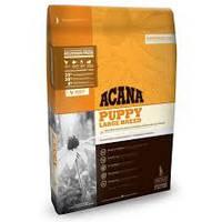 Acana PUPPY LARGE BREED (АКАНА Паппи Ладж Брид) - корм для щенков крупных пород (цыпленок/рыба), 17кг