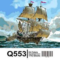 Картина на холсте по номерам Q553
