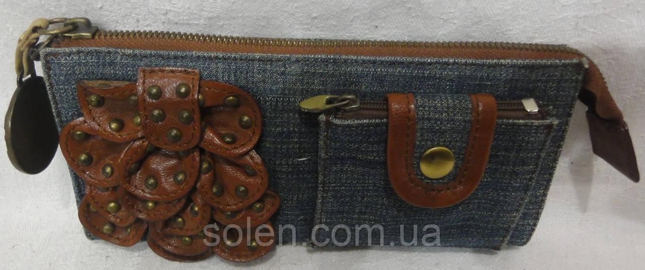 ac4e57f9da69 Джинсовый женский кошелёк - клатч.: продажа, цена в Харькове ...