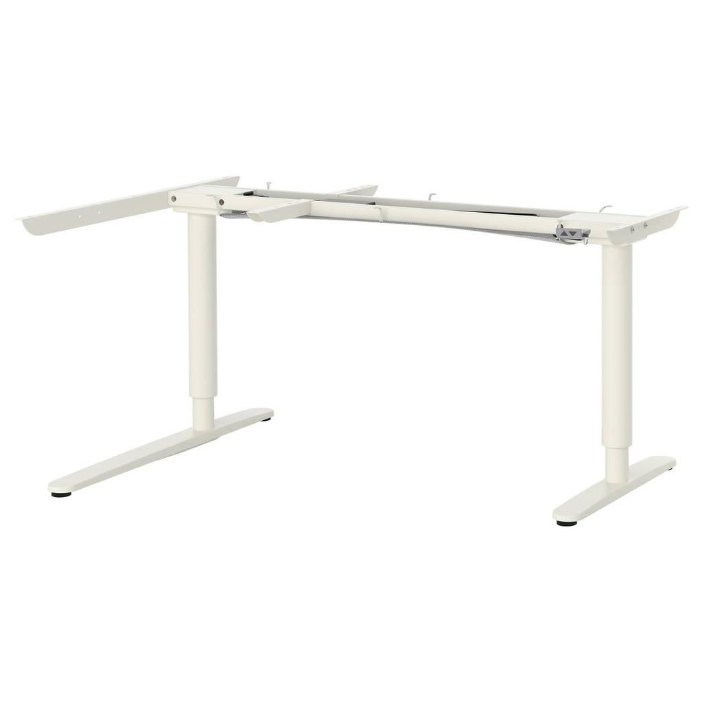 Bekant угловой стол трансформерэлектр белый 70252971 купить по
