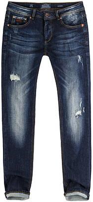 Джинсы мужские SCOTFREE SCOTFREE STINGER 59 D BLUE