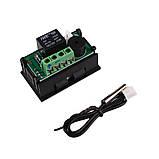 Терморегулятор (термостат) в корпусе (-50 +110С) DC 12V, фото 4