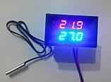 Терморегулятор (термостат) в корпусе (-50 +110С) DC 12V, фото 2