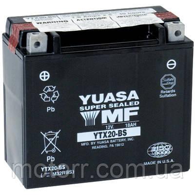 Аккумулятор YUASA YTX20-BS