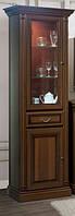 Витрина 1-но дверная Набукко Полки стекло