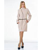 Пальто женское модель №4 волна бежевое(два варианта:весна, зима с утеплением), р.40-50