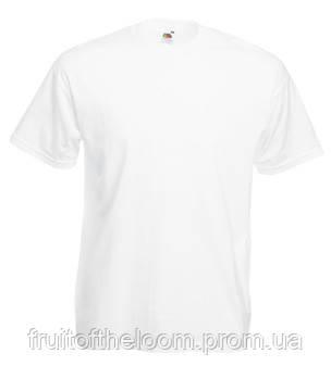 Купить Белые мужские футболки оптом fruit of the loom Киев цена недорого 61f3bb4510e46