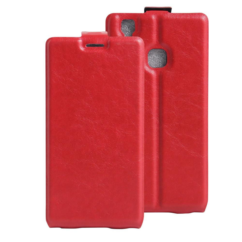 Чехол Doogee X5 Max / X5 MAX Pro флип PU-Кожа красный