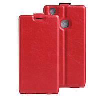 Чехол Doogee X5 Max / X5 MAX Pro флип PU-Кожа красный, фото 1