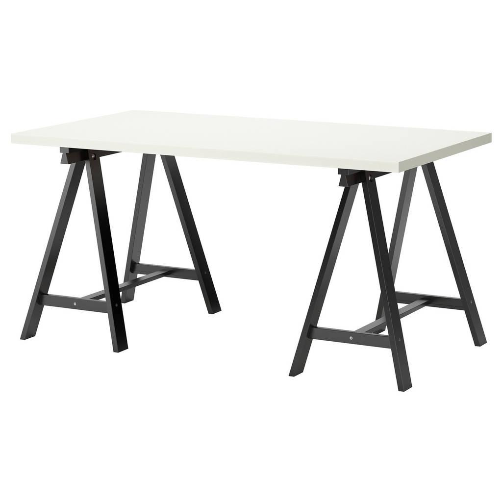 LINNMON / ODDVALD Стол, белый, черный