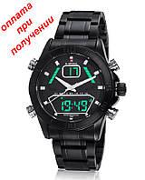Мужские военные, спортивные часы NAVIFORCE NF9022  Led ОРИГИНАЛ НОВИНКА!!!