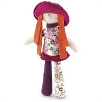 Мягкая кукла Trudi в красном, 33 см (19429)