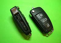 Audi - remote key 433Mhz 3 кнопки, 4F0837220AF 8E (без кейлеса)