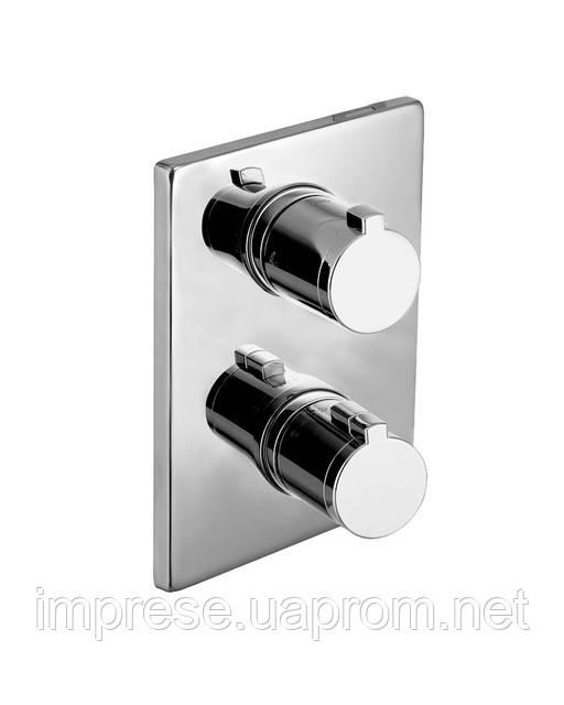 Новинка в ассортименте Imprese. Термостат для ванны скрытого монтажа Centrum VRB-10400Z