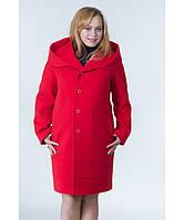 Пальто женское модель №21 (реглан) бежевое(два варианта:весна, зима с утеплением), р.48-54