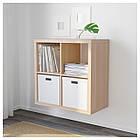 KALLAX Книжный шкаф, ef дуба морилок биа 603.245.20, фото 3
