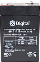 Кислотно-свинцовый аккумулятор X-Digital SP 6-4.5 (SW645)