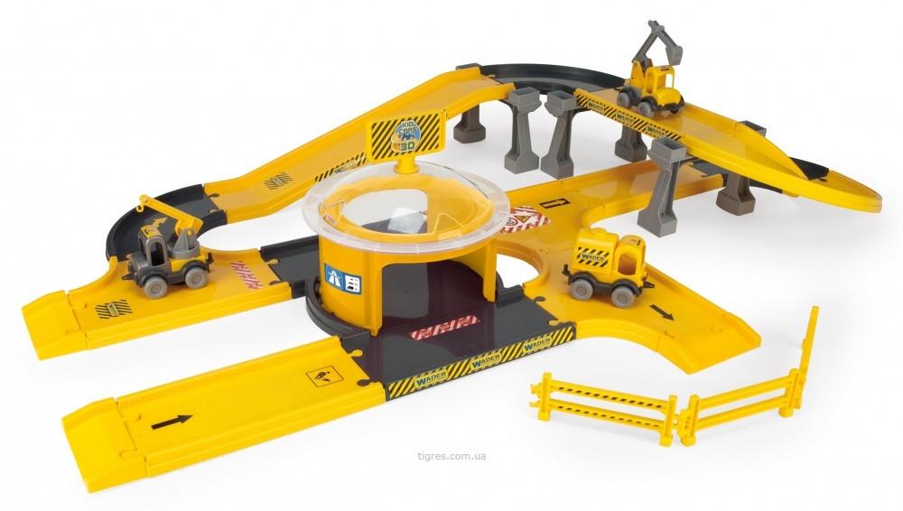 Ігровий набір будівництво Kid Cars 3D (53340)