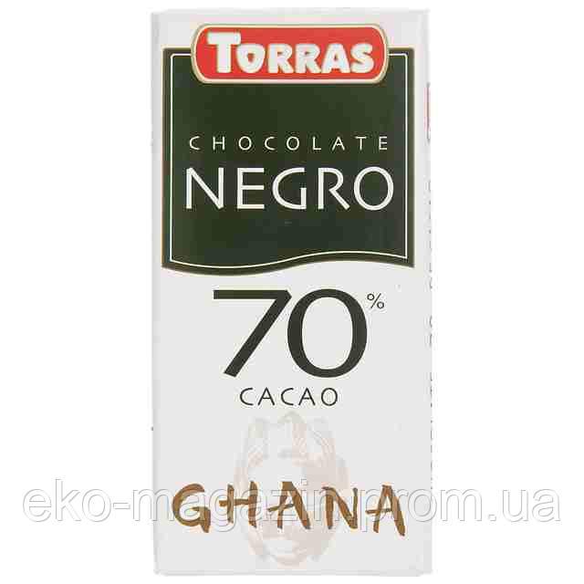 Шоколад Torras Negro 125гр