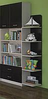 """Шафа книжкова з кутом """"Макс"""" (8 кольорів), фото 1"""