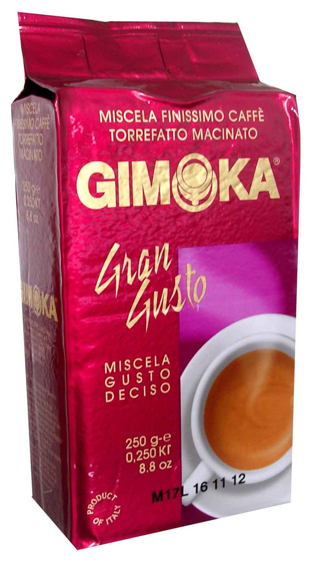 кофе заварной молотый gimoka gusto фото