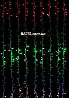 LED гирлянда Водопад на 240 светодиодов, 2х2м (гирлянда waterfall light), фото 1