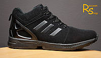Зимние мужские ботинки Adidas Zx Flux Winter black
