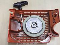Стартер для бензопилы 4500, 5200 корпус металл, храповик металл., плавный пуск