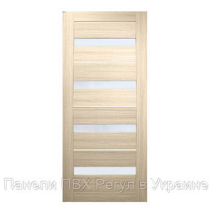 Двери межкомнатные  Милано ПВХ (стекло сатин), фото 2