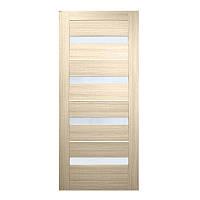 Двери межкомнатные  Милано ПВХ (стекло сатин)