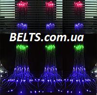 Новогодняя светодиодная гирлянда водопад 320 LED размером 3х2 м (гирлянда проточная вода waterfall light), фото 1