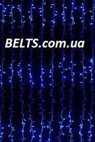 Новогодняя гирлянда световой дождь, гирлянда Водопад на окно 480 LED, размер 2х3м (waterfall light)
