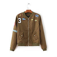 Стильная куртка милитари, фото 1