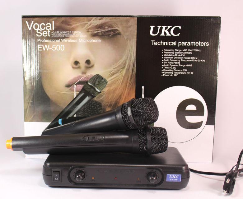 Ручной микрофон и приемник EW500H: аккумуляторы с индикаторами, системы Squelch True, Diversity, HDX - Интернет магазин «Наш базар» быстро, доступно и качественно в Киеве