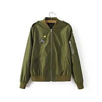 Стильная куртка хаки, фото 1