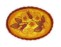 """Набор для вышивания крестом «Брошь """"Чайная роза""""» 1584АС"""