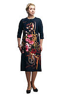 Женское повседневное платье большого размера 1705005