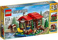 Конструктор LEGO серия creator Домик на берегу озера 31048
