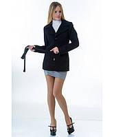 Пальто женское модель №15 жакет черное (весна/осень), р.40-48