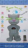 Портативная колонка  Говорящий Кот SK#06 с дисплеем, фото 2