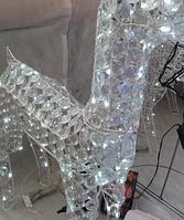 Светодиодная фигура  Олень с кристаллами