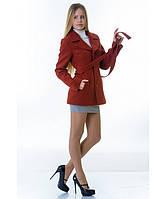 Пальто женское модель №15 жакет рыжее (весна/осень), р.40-48