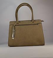 Красивая женская бежевая сумочка HAOERXI 1630-343