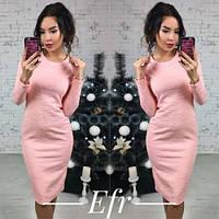 Платье женское до колена облегающее 134 -2,модная одежда