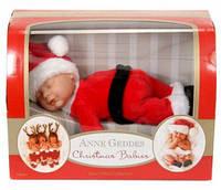 Кукла Санта (Anne Geddes) Анны Геддес 23 см 579126-AG