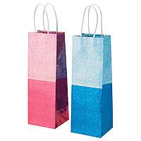 VINTER 2015 Сумка в подарок, синий, розовый